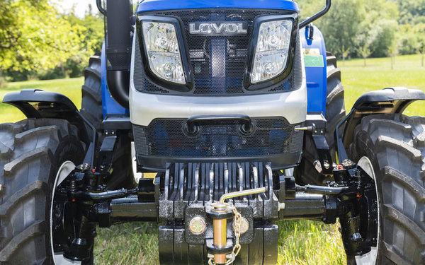 lovol te254c traktor mit kabine und frontlader inkl schaufel. Black Bedroom Furniture Sets. Home Design Ideas